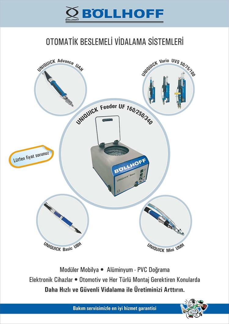 Böllhoff Otomatik Beslemeli Vidalama Makineleri