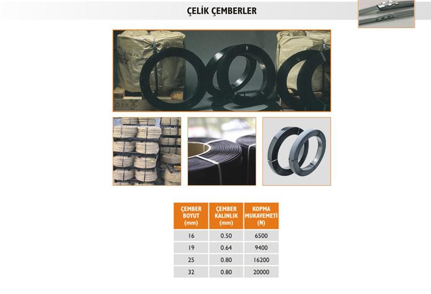 Çemberleme Makineleri (Çelik Çemberler)